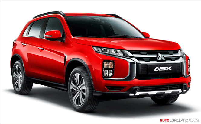 All-New Mitsubishi ASX Revealed Ahead of Geneva Debut