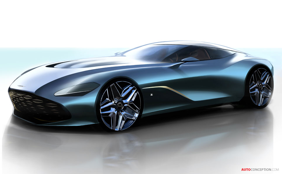 Aston Martin Reveals First Renderings of New DBS GT Zagato