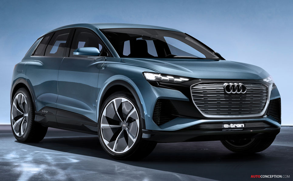 All-Electric Audi 'Q4 e-tron' Concept Previews 2020 Production Model