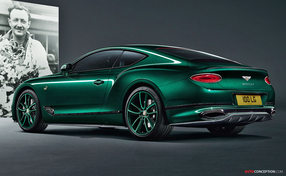 Bentley Marks Centenary with Limited-Run Continental GT 'Number 9 Edition by Mulliner'