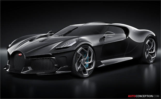 One-Off Bugatti 'La Voiture Noire' is Most Expensive New Car of All Time