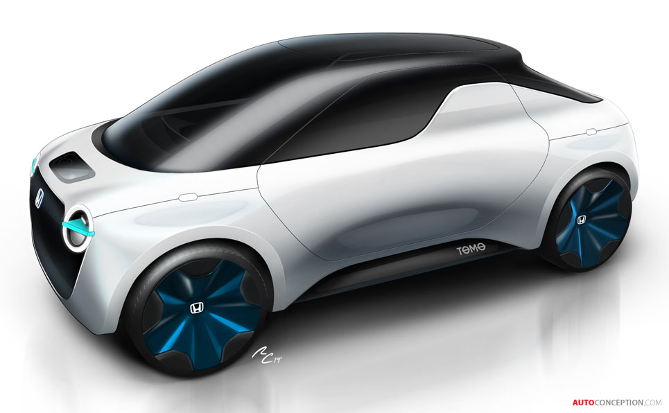 Honda and Institute Europeo de Design Envision City Car of the Future
