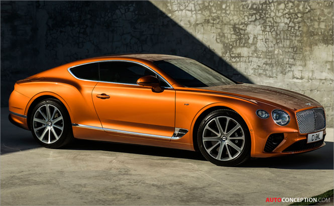 New Bentley Continental GT V8 Revealed