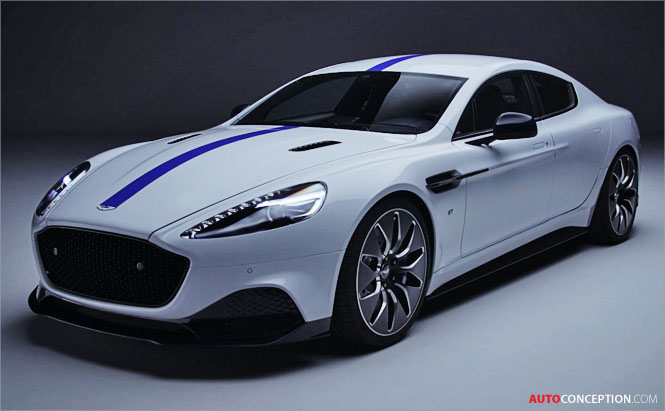 New Rapide E Becomes Aston Martin's First Electric Model