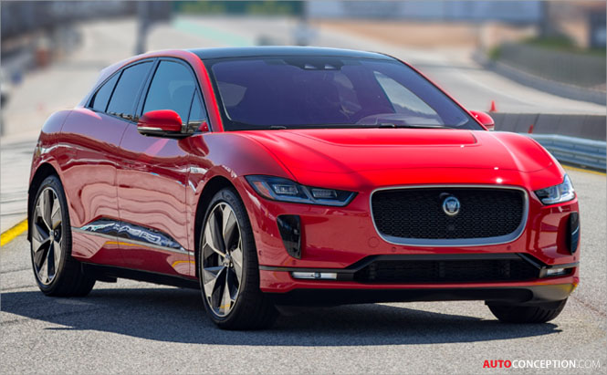 Jaguar I-PACE Scores Historic Hat-Trick of Awards – Including 'World Car Design of the Year'