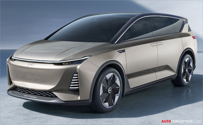 AIWAYS Debuts 'U7 ion' Electric Concept Car in Shanghai
