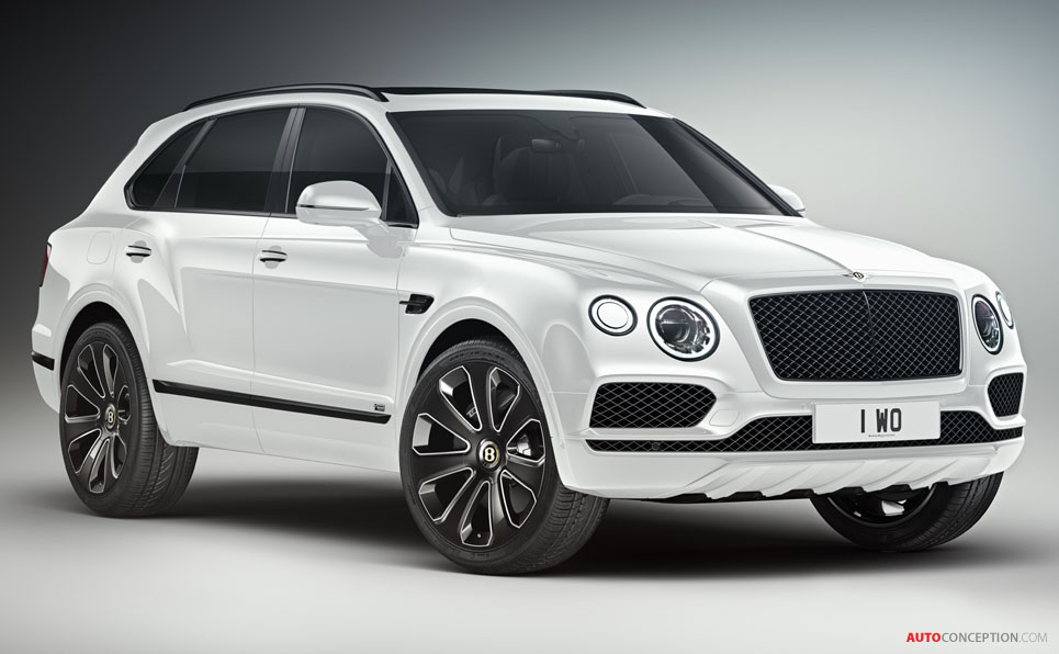 Bentley Unveils Special Edition Bentayga V8 'Design Series'