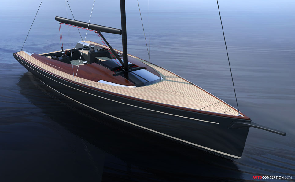 Peugeot Collaborates on Design of New Latitude 46 Sailing Boat