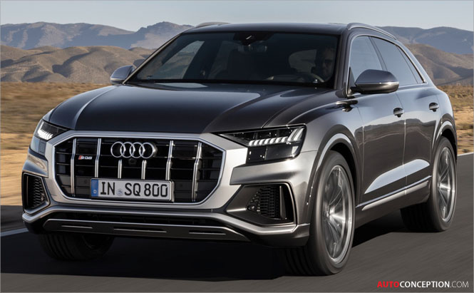 Audi Unveils New Top-of-the-Line SQ8 SUV