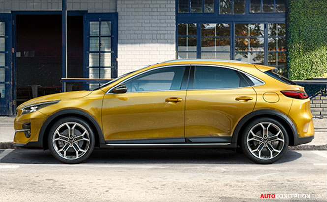 Kia Reveals First Image of All-New 'XCeed' Crossover