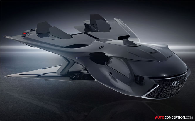 New Lexus Spaceplane Revealed