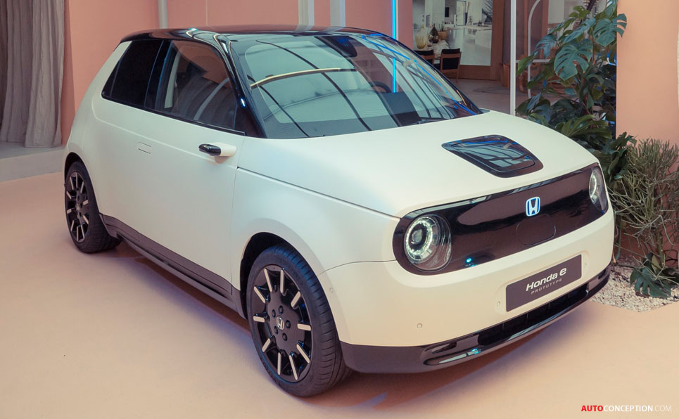 Tech Details Revealed of Honda's First Ever All-Electric City Car