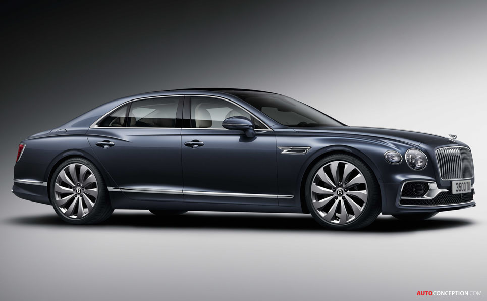 All-New Bentley Flying Spur Unveiled