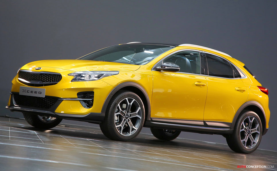 Kia XCeed and 'Imagine by Kia' Concept Win iF Design Awards