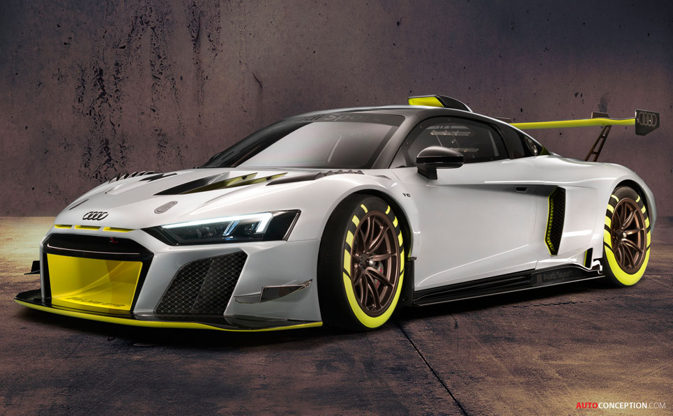 Audi Reveals R8 LMS GT2 Racing Car at Goodwood