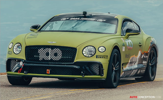 Bentley Continental GT Sets New Production Car Record at Pikes Peak Hill Climb