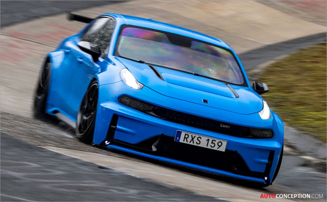 Lynk & Co 03 Cyan Concept Breaks Nürburgring Records