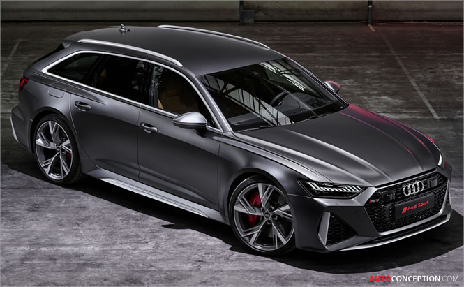 All-New 2020 Audi RS 6 Avant Revealed