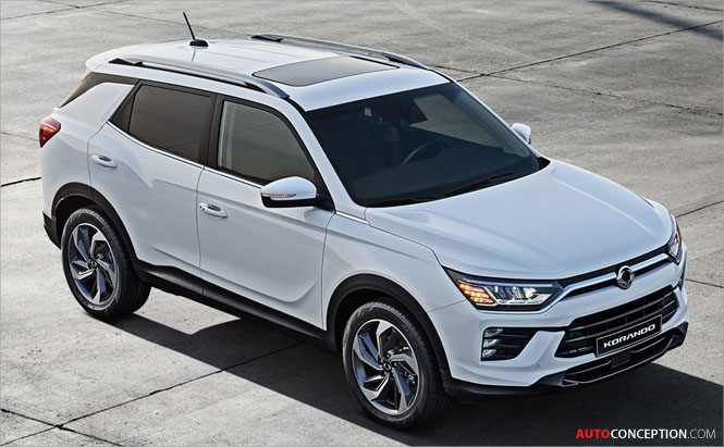 SsangYong Launches All-New Korando SUV