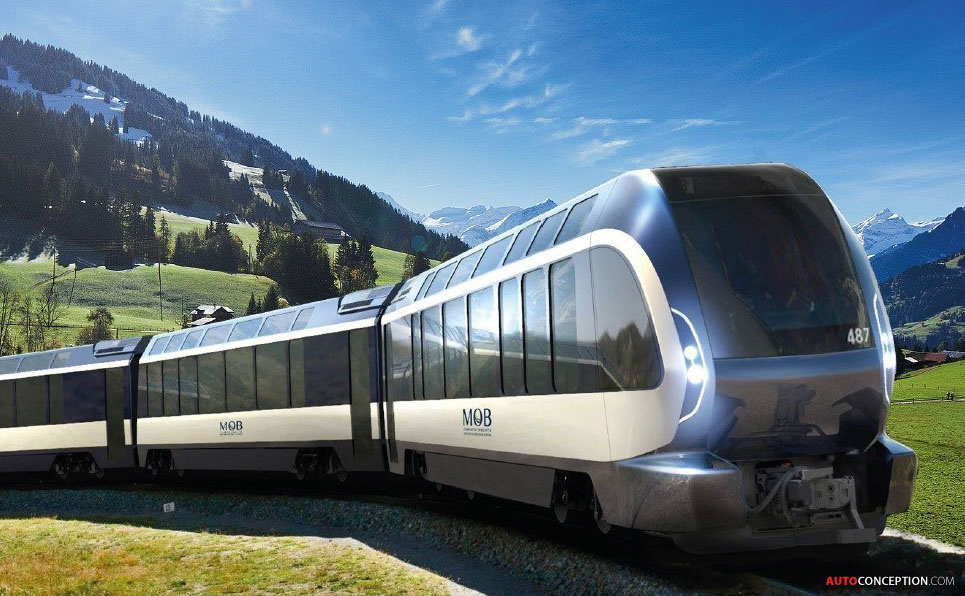 Pininfarina-Designed Train Becomes Reality in Switzerland