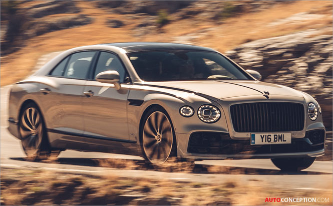 Bentley Unveils Flying Spur 'Blackline' Edition