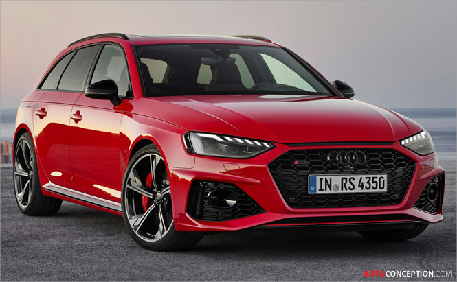 2020 Audi RS 4 Avant Unveiled