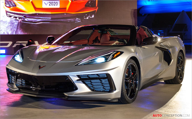 Chevrolet Corvette Convertible Unveiled