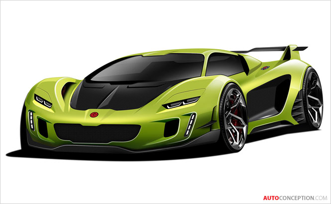 Gemballa Reveals Design Sketches of Its First Ever Car