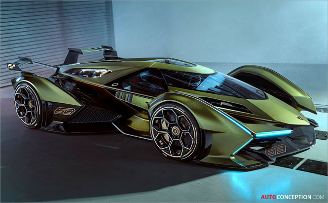 Lamborghini 'Lambo V12 Vision Gran Turismo' Concept Revealed for PlayStation 4