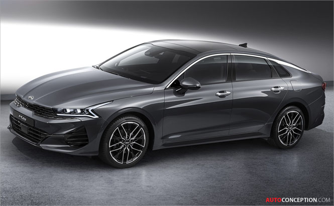 Kia Sets Out New Design Direction with K5 Saloon