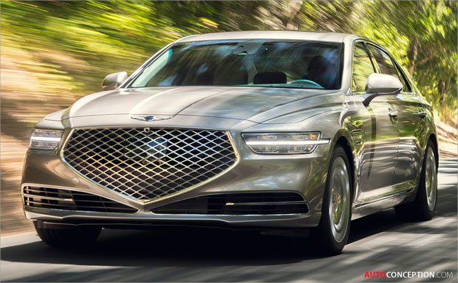 Genesis G90 Saloon Gets Design Refresh for 2020