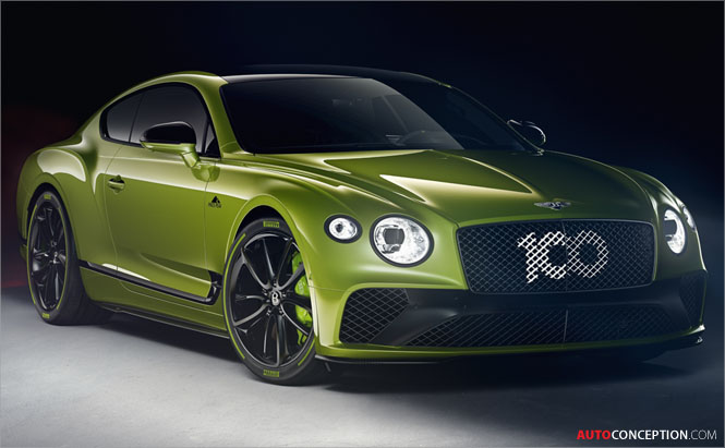 Bentley Creates Limited Edition Continental GT to Celebrate Pikes Peak Record