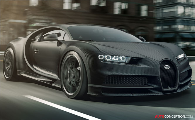 Bugatti Goes Dark with New Special Edition 'Chiron Noire'