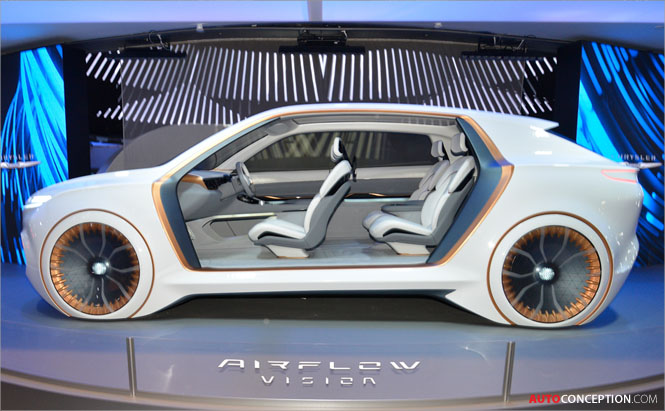 'Airflow Vision' Concept Car Previews Chrysler's Future Design Language