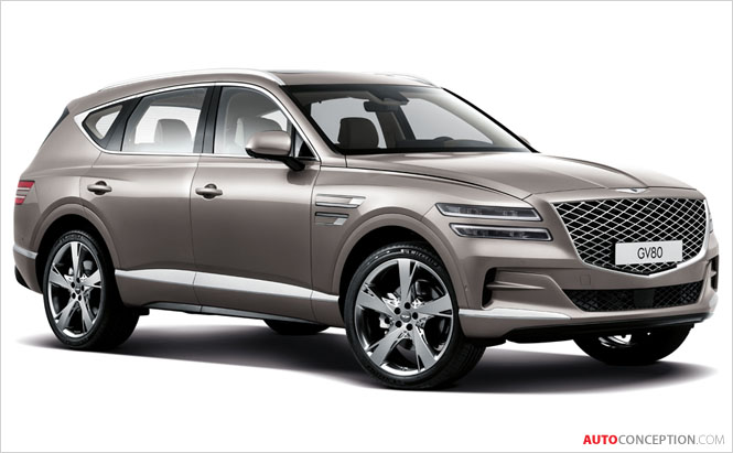 Genesis Luxury Flagship SUV GV80 Unveiled
