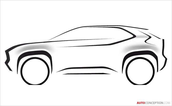 Toyota Teases Design of New Compact SUV