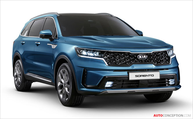 All-New Kia Sorento Revealed