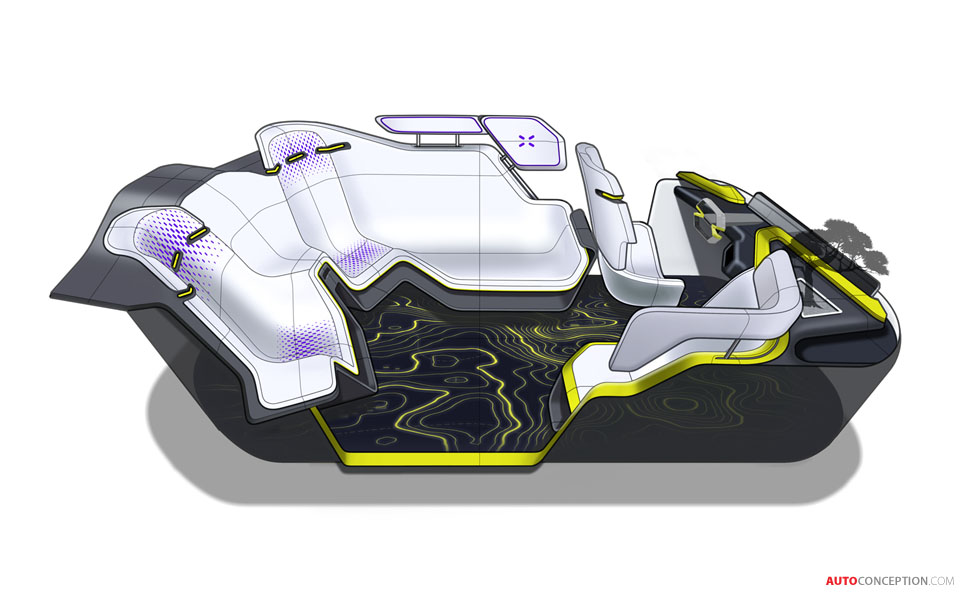 IED's 'TRACY' Concept Car Explores Future of Shared Mobility