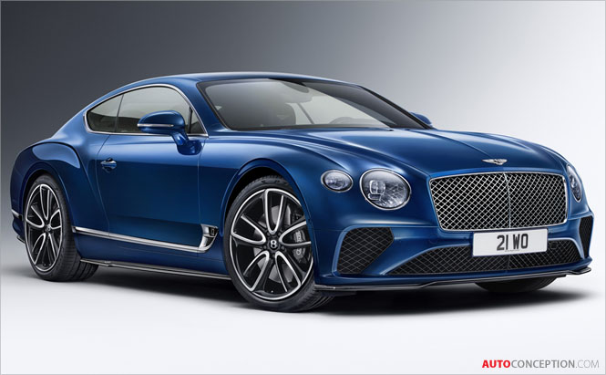 Bentley Reveals New Styling Package for Continental GT and Bentayga