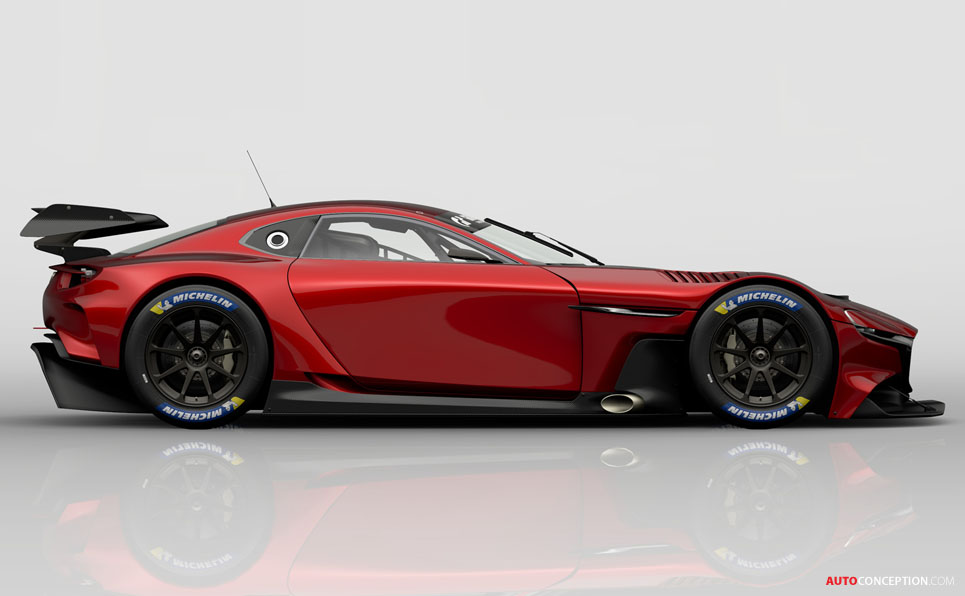 Mazda RX-Vision GT3 Virtual Concept Joins Playstation's Gran Turismo Sport