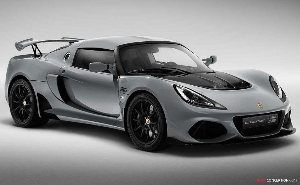 Lotus Exige '20th Anniversary' Edition Unveiled