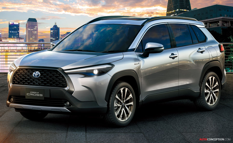 'Corolla Meets SUV' – Toyota Unveils New Corolla Cross