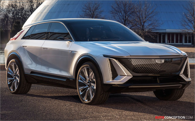 New 'Lyriq' Concept Car Previews Cadillac's First Production EV