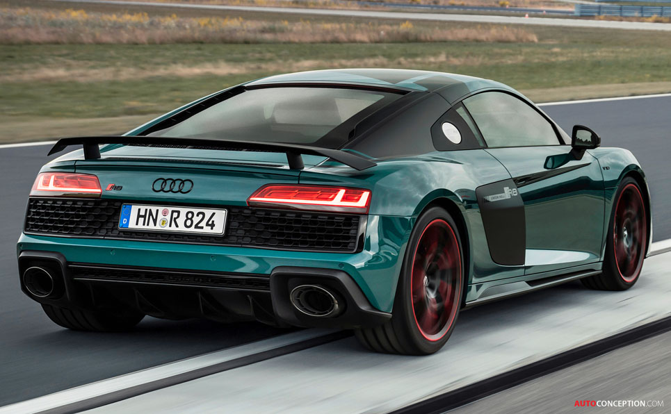 Audi Unveils Limited-Edition R8 'Green Hell'
