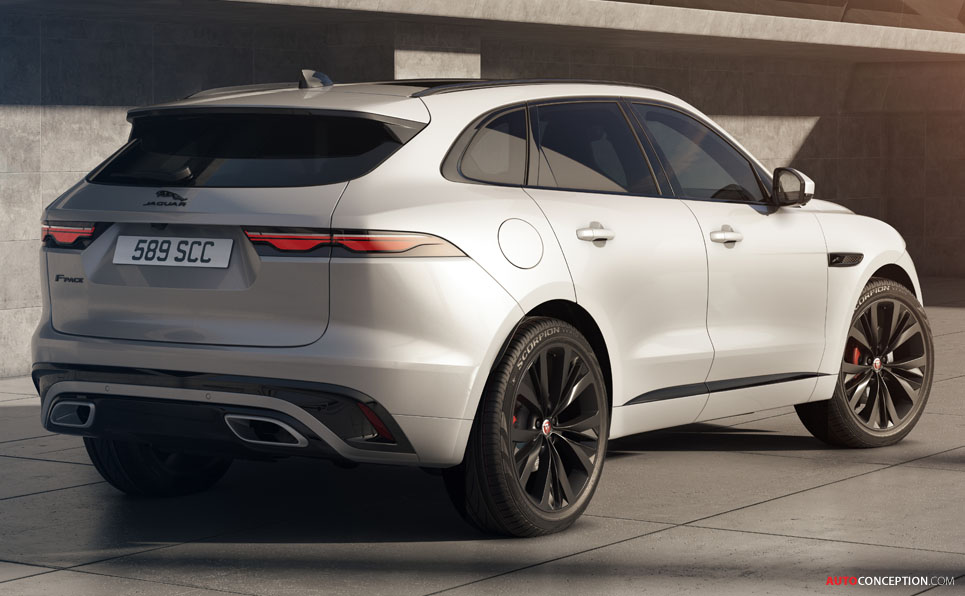 New Jaguar F-Pace Revealed