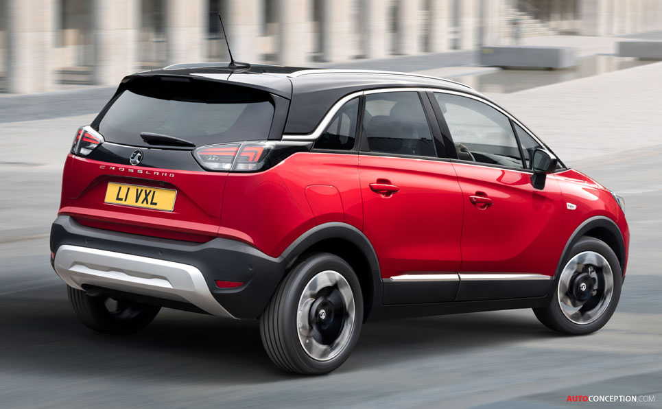First Images of New Vauxhall Crossland Revealed