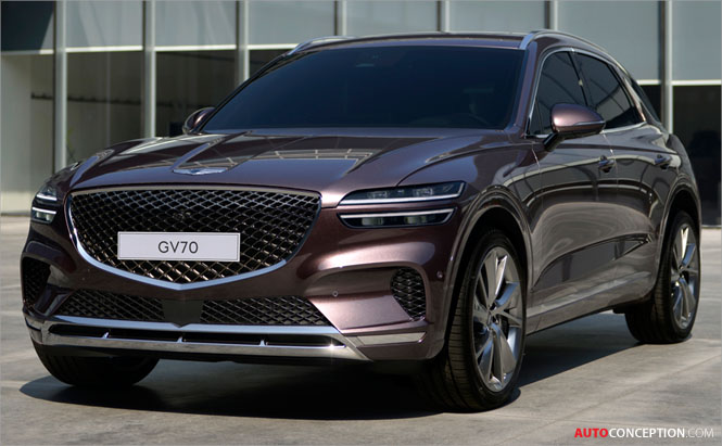 New Genesis GV70 SUV Unveiled
