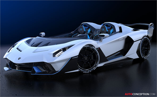 One-Off, Open-Top Lamborghini 'SC20' Hypercar Revealed
