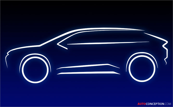 Toyota Teases Design of All-New Electric SUV
