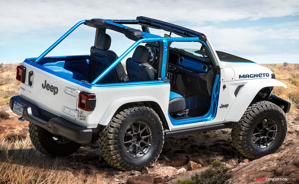 Jeep 'Magneto' Concept Hints at Electric Wrangler
